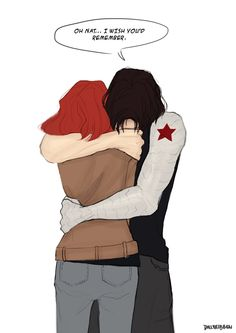 This hurts so much because in the comics they both had their memories altered/erased.
