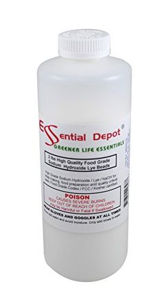 Check out the deal on 2 lbs Food Grade Sodium Hydroxide Lye Micro Beads - Makes best soap and great for pretzels at Essential Depot Baking Soda Shampoo, Baking Soda Uses, Hair Cleanser, Drain Cleaner, Soap Maker, Sodium Hydroxide, Best Soap, Home Made Soap, Soap Recipes