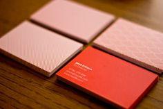 minimalist business cards