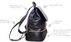 0346fc031280 Designer Leather Backpacks for Women