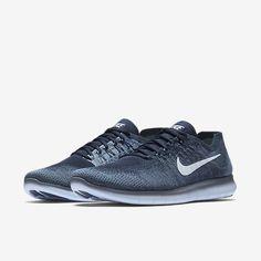 43e87c30b8bb Nike Free RN Flyknit 2017 Mens Running Shoes 11 Ocean Fog Blue Tint 880843  402