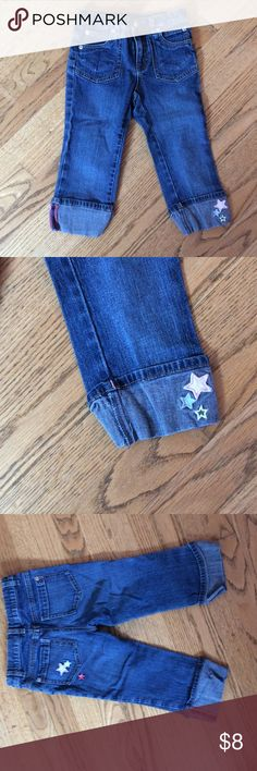 Tommy Hilfiger cropped jeans Tommy Hilfiger cropped jeans with star embellishments and adjustable waist Tommy Hilfiger Bottoms Jeans