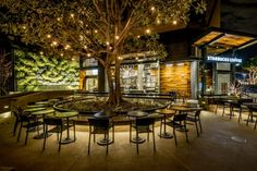 Starbucks store at Disneyland, Anaheim – California » Retail Design Blog
