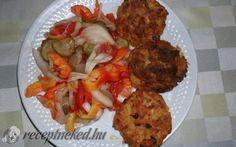 Császárné pogácsája recept fotóval Hungarian Recipes, Hungarian Food, Tandoori Chicken, Beef Recipes, Shrimp, Sausage, Dinner Recipes, Pork, Menu