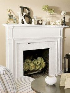 So pretty, i like the flowers in the fireplace