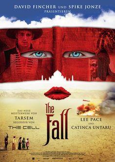 The Fall. Una buenísima película. En versión original mucho mejor.