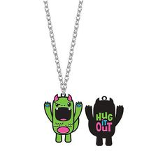 So So Happy monster necklace-Tribe. This little guy is my favorite! So cute! sosohappyonline.com