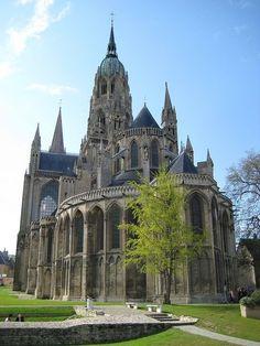 Catedral de Bayeux, Normandia, França