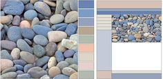 I love this colour palette, especially for a beach house or cottage.