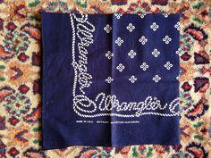 Today's bandana!!70's wrangler