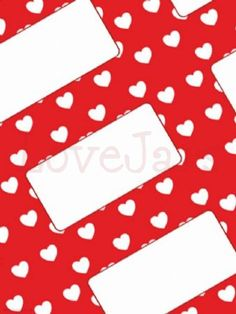 We love Jar Labels Red Hearts - find them in our online shop under Rosie's Pantry: Labels, Jar Labels Jam Jar Labels, Jam Label, Pantry Labels, Love Jar, How To Make Jam, Red Hearts, Red Background, Wedding Favours, Jars