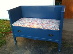 Great idea for old dresser.