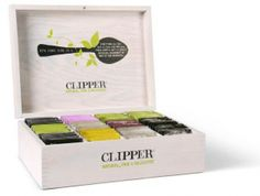 Tea chest by Clipper