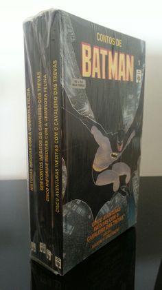 Contos de Batman: Livros de Bolso. Editora Abril. 4 Edições (1-4)