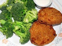 Hamburger di broccoli e patate
