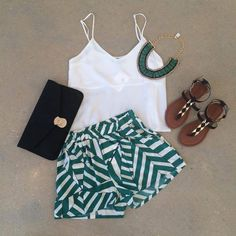 Striped Summer Outfit