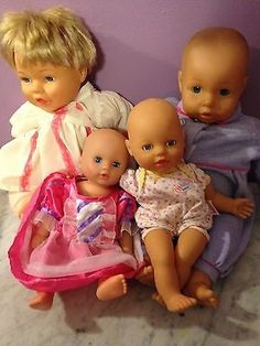 awesome Lot of 4 vinyl plastic dolls Lissi Baby born Cititoy Singtoys - For Sale Check more at http://shipperscentral.com/wp/product/lot-of-4-vinyl-plastic-dolls-lissi-baby-born-cititoy-singtoys-for-sale/