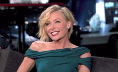 Portia de Rossi on Jimmy Kimmel Live!.