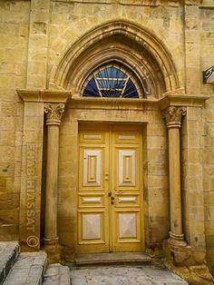 """Al-salt city door , """"  al maasher home """" Wellcom to jordan ♡"""