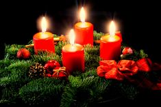 The Adventskranz is an old tradition that almost every household follows. Burn one candle every sunday before #Christmas. More German Christmas traditions on  www.inside-munich.com