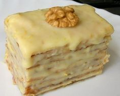 Puff pastry with condensed milk / Fashion Style