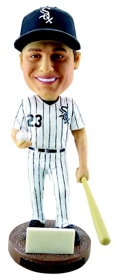 Promotional Giveaways at Sox Park, such as May 26, 2012's Robin Ventura Bobblehead giveaway to First 20,000 fans.