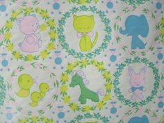 "Vintage Department Store Baby Shower Birthday Wrapping Paper 30"" Wide x 3 Yards 