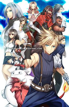 Final Fantasy 7 by Kamaniki