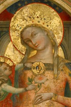 Madonna and Child. Religious Images, Religious Icons, Religious Art, Renaissance Artworks, Blessed Mother Mary, Mary And Jesus, Byzantine Art, Madonna And Child, Art Icon
