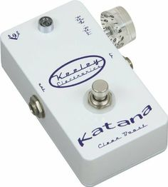 Keeley Katana Pre Amp Guitar Effect Pedal by Keeley. $199.99. Save 20%!