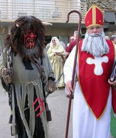 Krampus, Santa's evil helper from the European parts of the World