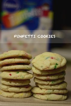 Funfetti cookie recipe.