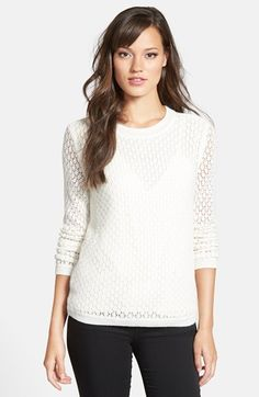 lace knit sweater / chelsea28