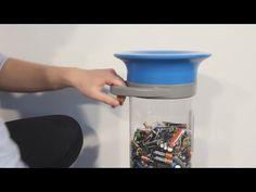 Glasdon UK | how to use | C-Thru™ 5, 10 & 15 battery recycling bins http://www.youtube.com/watch?v=vaXZycH_ILU