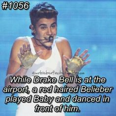#Bieberfacts, haha I probably would've done the same thing