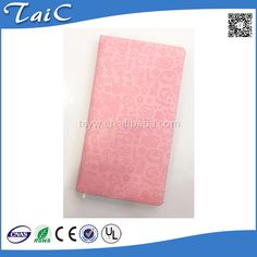 Check out this product on Alibaba.com APP 2016 New style embossing candy color PU Leather agenda notebook/Customized notebook