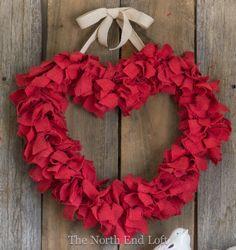 Fabric Wreath.