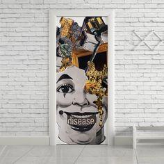Adesivo de porta disease - StickDecor | Decoração Criativa