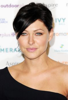 Emma Willis attends The Emeralds And Ivy Ball at Old Billingsgate Market on November 30, 2013 in London, England.