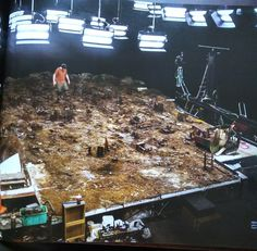 "Blade Runner The miniature ""San Diego"" waste management district set. Film Blade Runner, Blade Runner 2049, Thunder City, Light Cinema, Denis Villeneuve, Titanic Movie, Modeling Techniques, Lights Camera Action, Columbia Pictures"