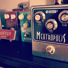 A couple of today's builds ready to go out in the morning! #fuzz #sodadrive #fueldriver #Meatropolis  fuzzboxes.co.uk