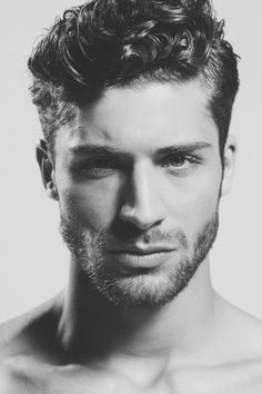 hair Black and White Model models modeling men strong male model mens fashion shirtless star guys muscles menswear hairstyle tough hot guys beard male models cute guys mens style tension brazilian model b & w beautiful hair mens hair male modeling Thom Morell b & w photography b & w fotografía