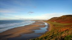 Llangennith is the surfing capital of Gower, mainly due to the consistent swells that pour in from the mighty Atlantic Ocean, and is situated at the northern end of Rhossili Bay. The bay stretches for over three miles... Find out more on the Wild Swim Map from the Outdoor Swimming Society