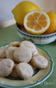 Sounds YUMMY!!!!                      Glazed Lemon-Almond Cookies Adapted from Serious Eats 1 cup sliced almonds, toasted 3 Tbsp grated lemon zest 1 cup unsalted butter, softened 1/2 cup powdered sugar 2 tsp vanilla extract 2 cups flour 1/4 tsp salt  Glaze 3/4 cup powdered sugar 2 Tbsp fresh lemon juice