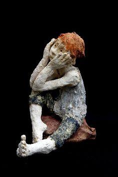 "Jurga Martin *Jurga Sculpteur ""Kids"""