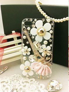 Iphone 4 & 4s cases little Ballerina girls ②shining case for your cell phone