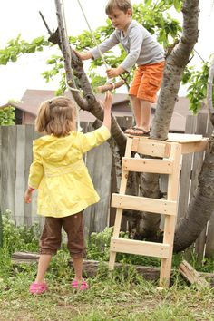 building a backyard zip line