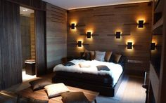 Hotel room in The Chedi Andermatt