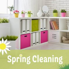 Check our spring cleaning blog post for some expert tips!