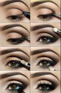 This is just lovely! Perfect smokey eye!